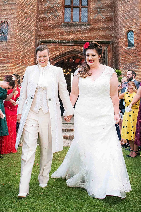 Lesbian Weddings Bespoke Suits Bridalwear For Lgbt Weddings